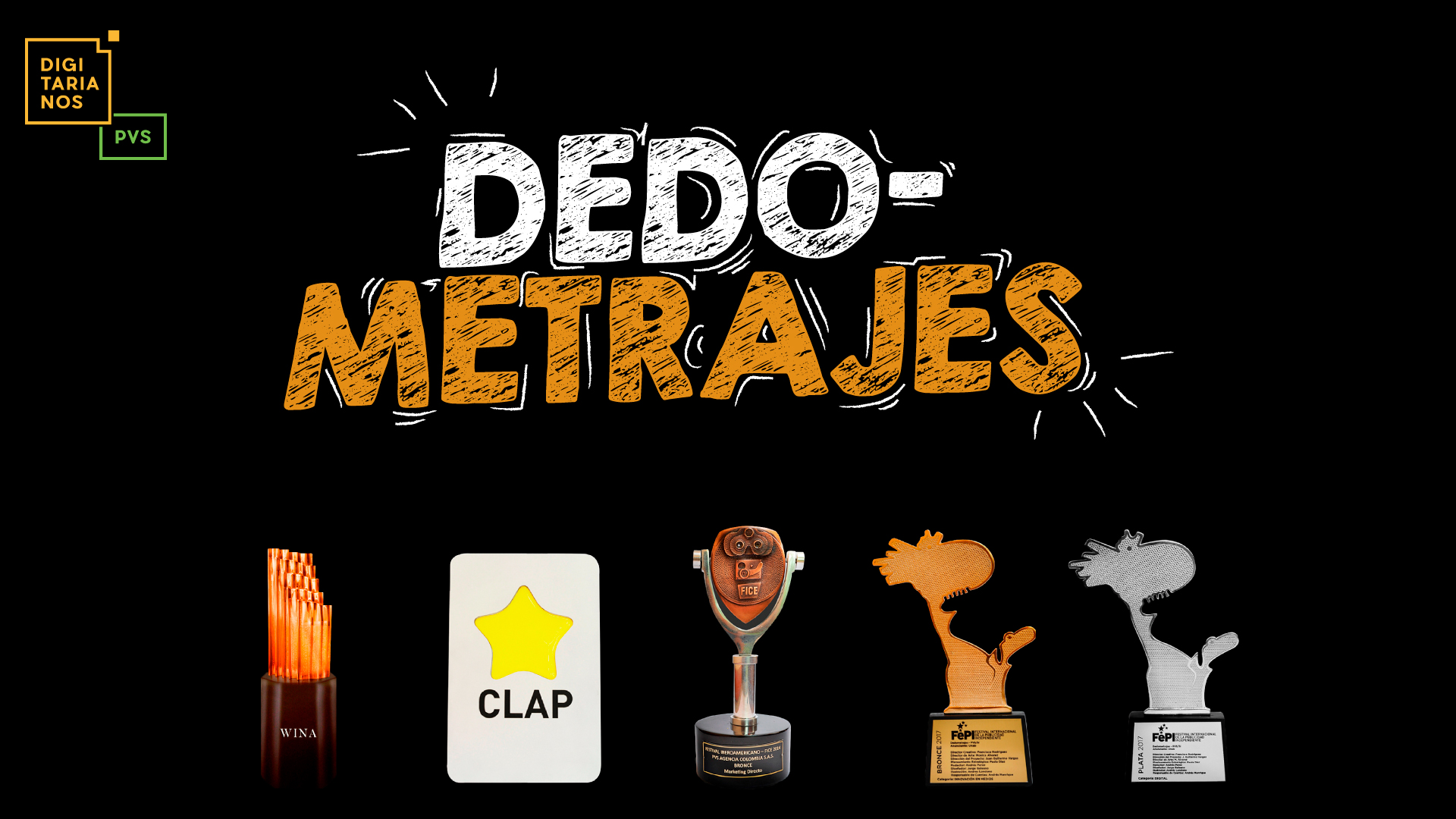 Dedometrajes gana premios internacionales: FICE, FEPI y WINA